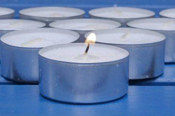 małe świeczki